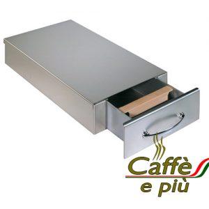 Royal Inox-Edelstahl Kaffee-Sud Lade